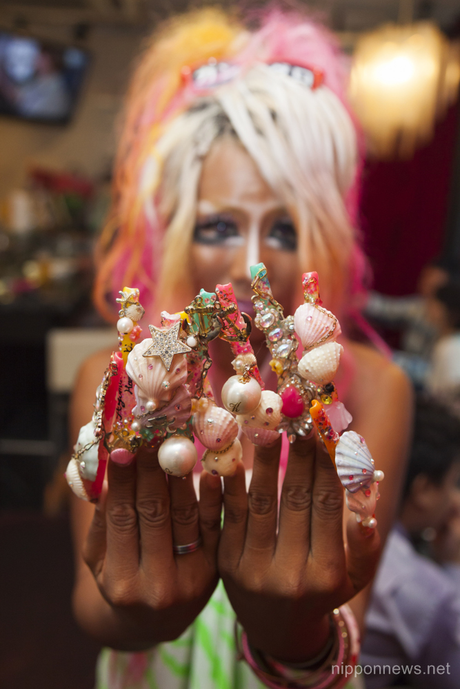 Ganguro Style Nippon News Editorial Photos Production Services