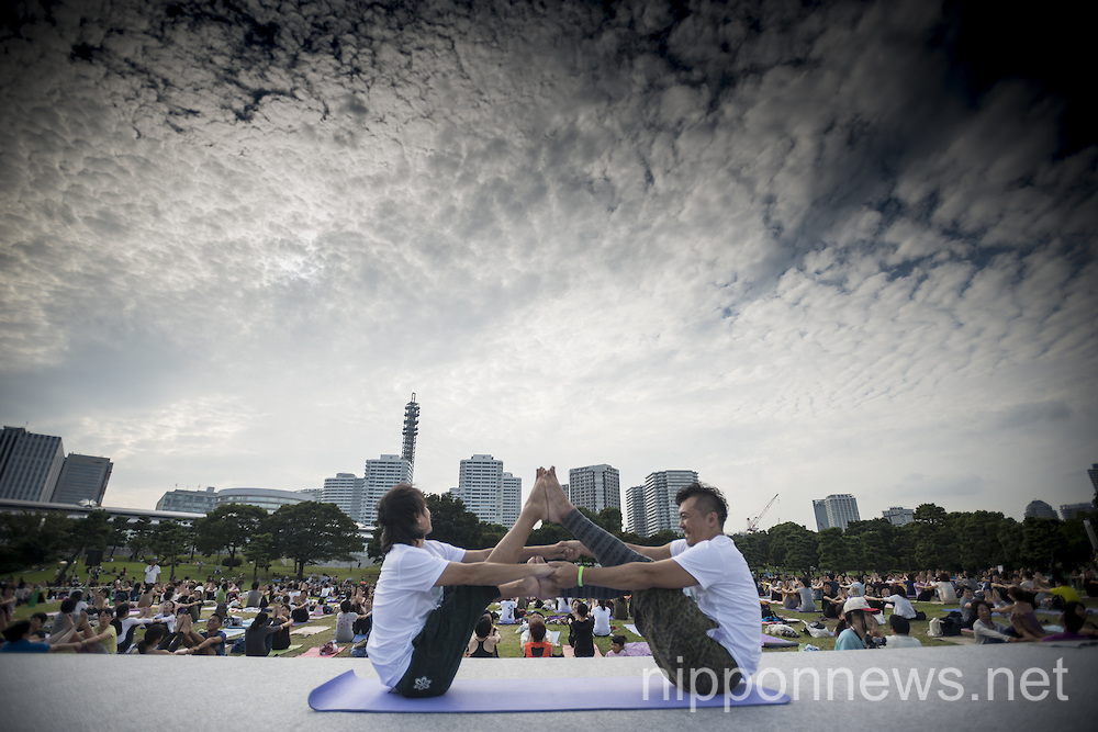 Yoga Festival in Yokohama