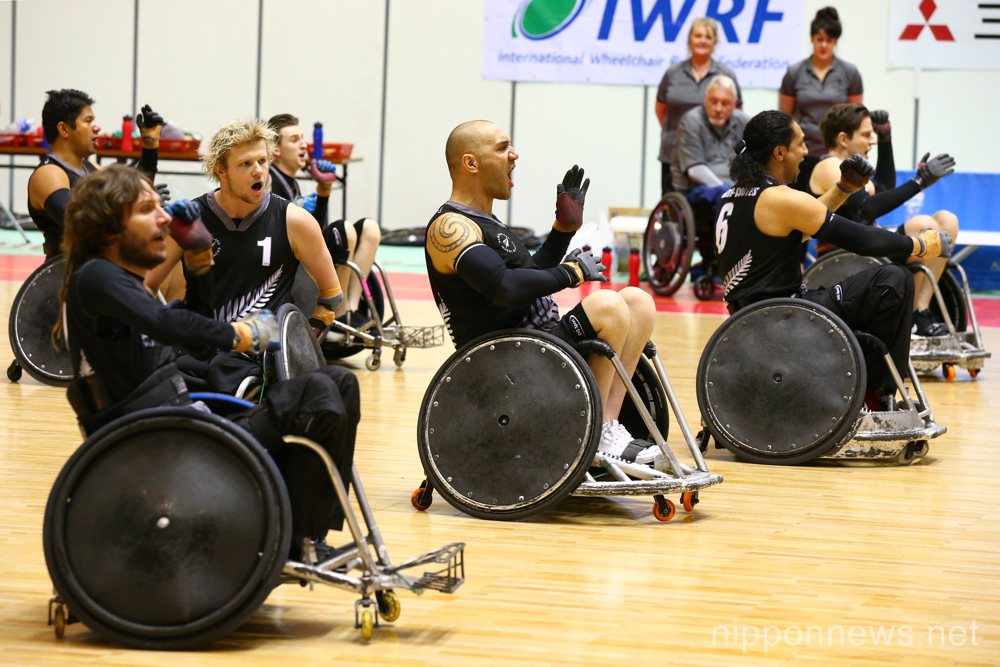 Wheelchair Rugby : IWRF 2015 Asia-Oceania Championship