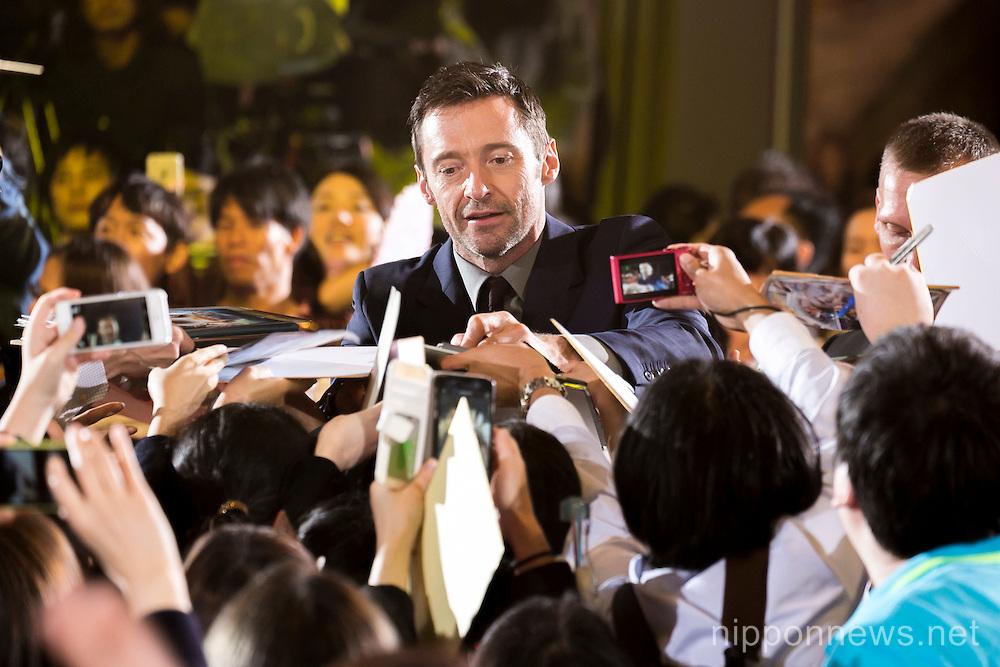 Hugh Jackman Japan Pan Premiere