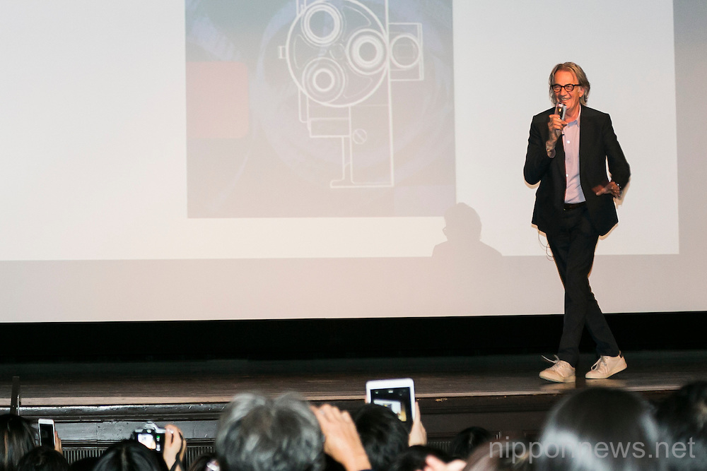 Fashion Designer Paul Smith Speaks at Waseda University