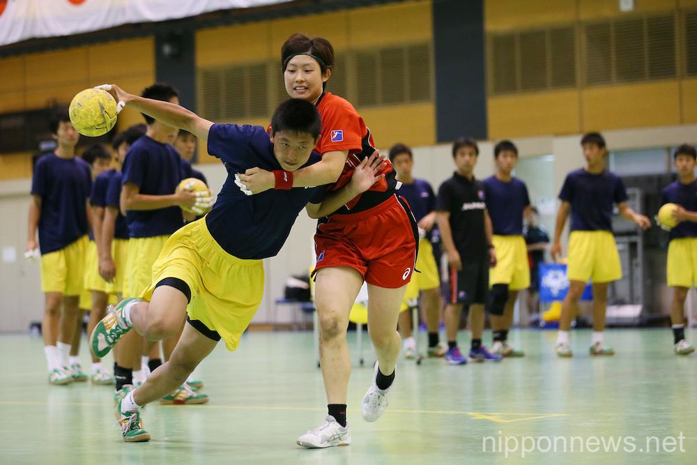 Handball : Japan women's national team training session