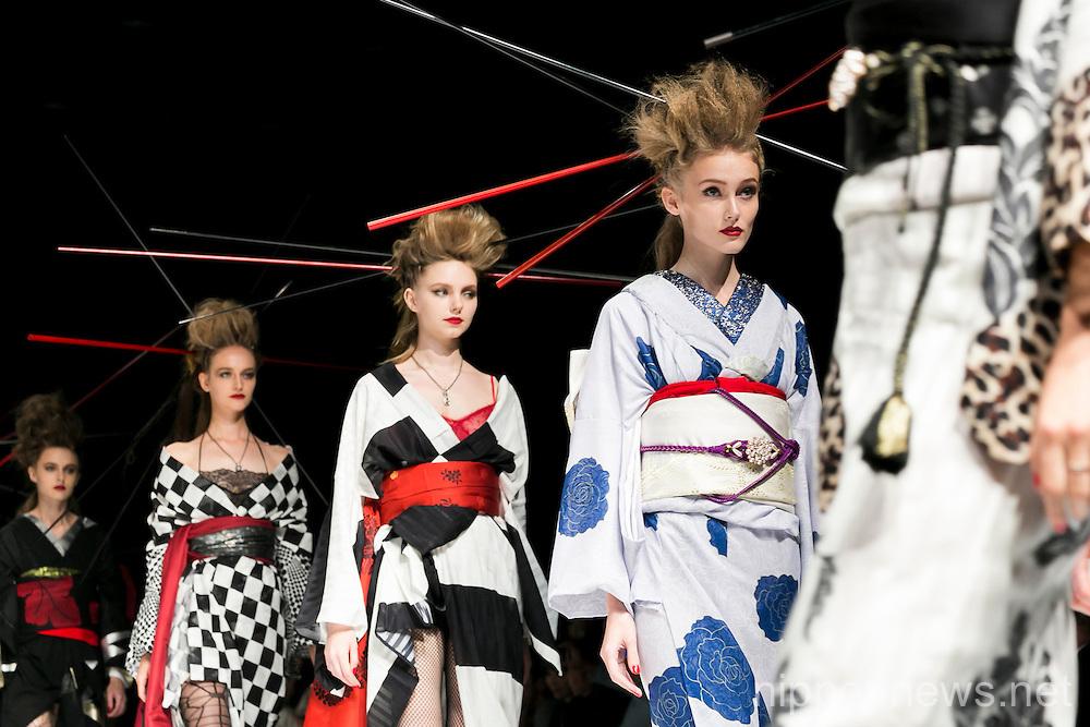 Mercedes-Benz Fashion Week Tokyo 2016 S/S : YOSHIKIMONO FIRST COLLECTION
