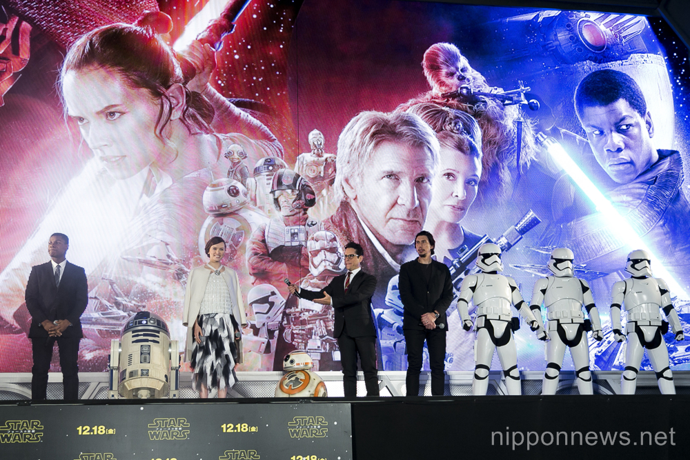 Star Wars: The Force Awakens – Japan PremiereStar Wars: The Force Awakens – Japan PremiereStar Wars: The Force Awakens – Japan PremiereStar Wars: The Force Awakens – Japan PremiereStar Wars: The Force Awakens – Japan Premiere