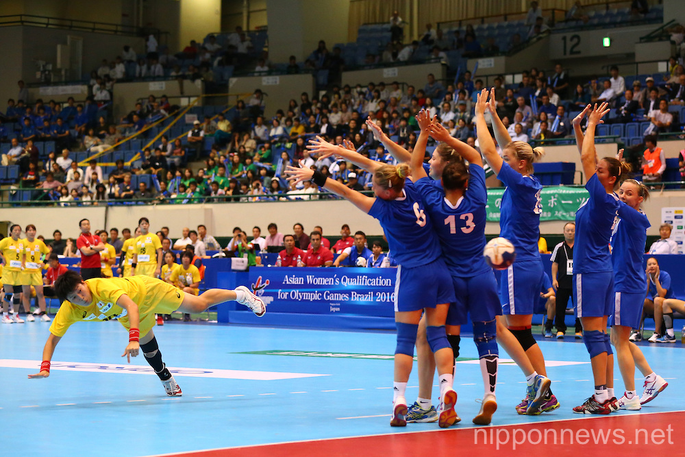 Handball: Asian Women's Qualification for 2016 Summer Olympic Games