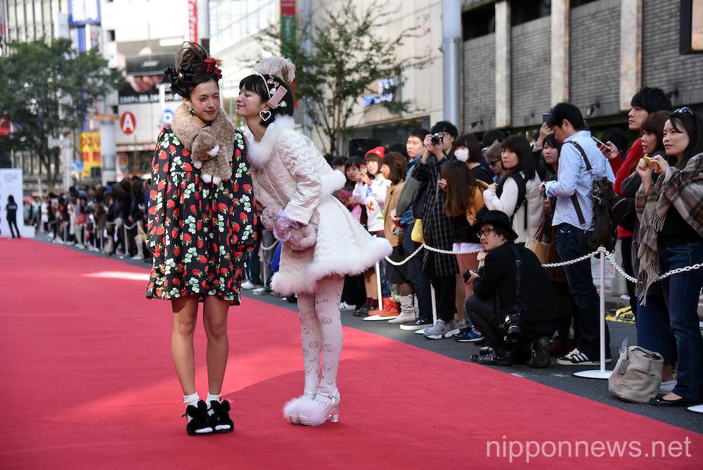 Shibuya Youth Street Fashion Show in Tokyo