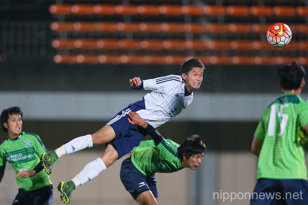 Football/Soccer: Training match - Shonan Bellmare 1-1 U-22 Japan candidates