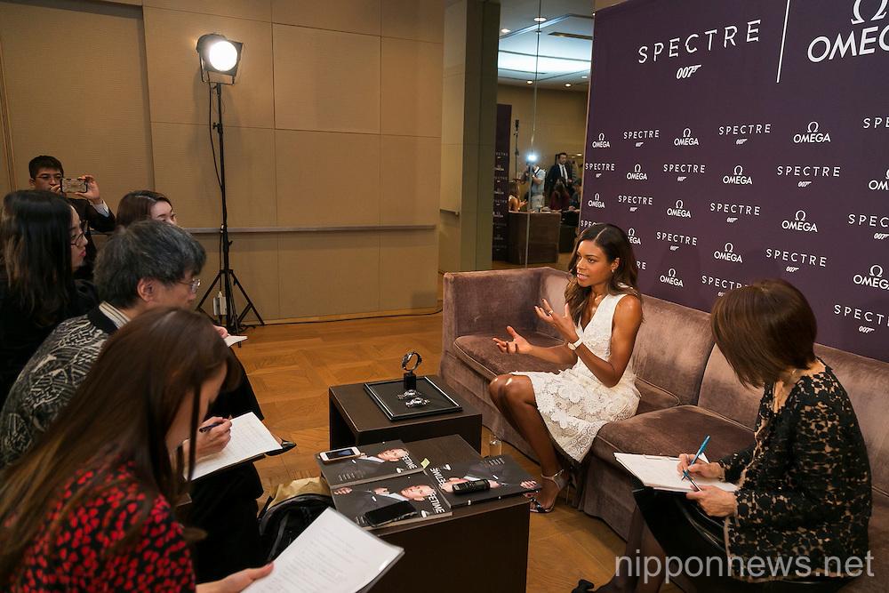 Naomie Harris promotes Spectre in Tokyo