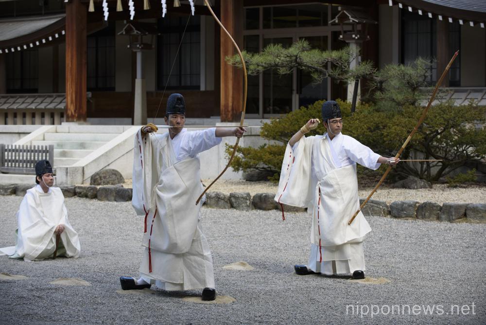 Hosha Shinji at Atsuta Shrine
