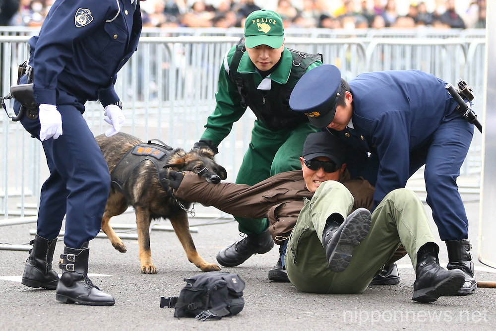 Tokyo Marathon 2016 Showcases Counter Terrorism Measures