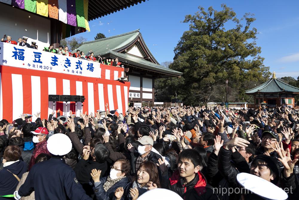 Setsubun at Naritasan Shinshoji Temple