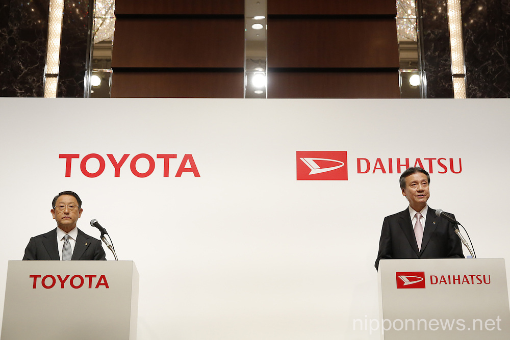 Toyota Announces Daihatsu Buyout