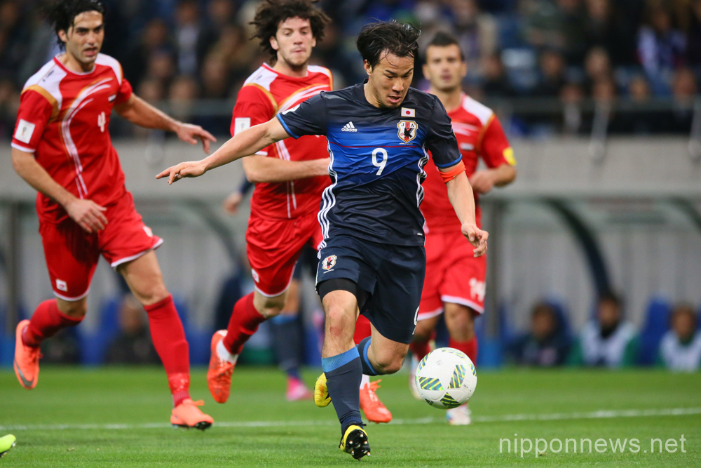 FIFA World Cup Russia 2018 Asian Qualifier -  Second Round Group E : Japan 5-0 Syria