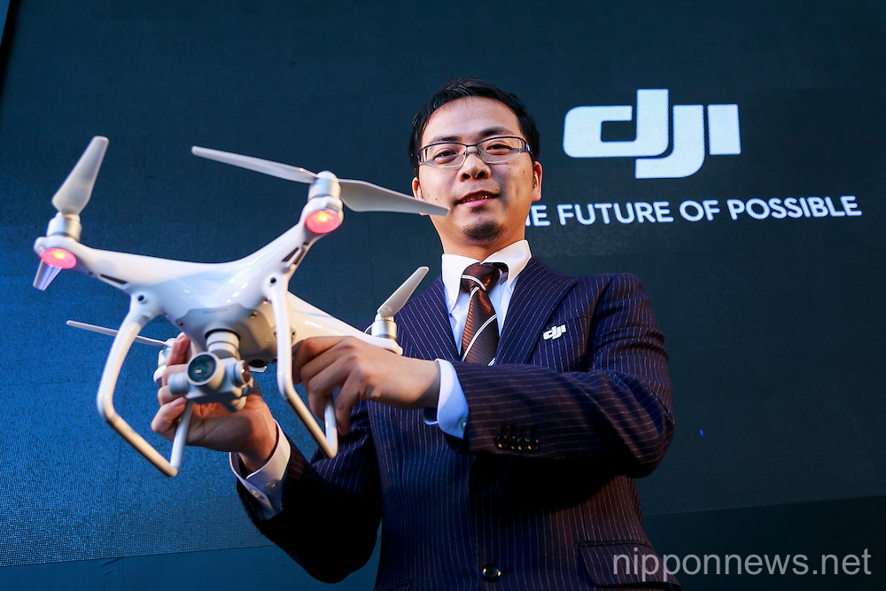 DJI Phantom 4 Presentation in Japan