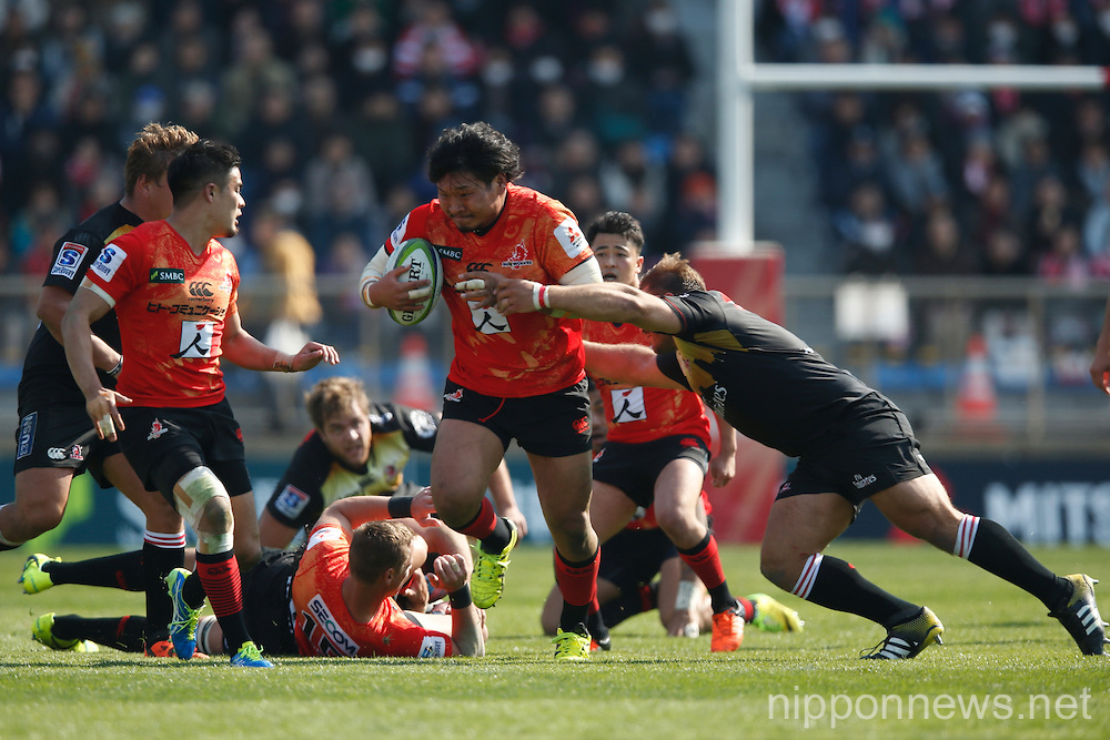 Rugby: Super Rugby - Sunwolves 13-26 Lions
