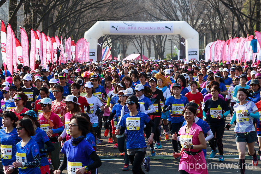 Shibuya Omotesando Women's Run 2016