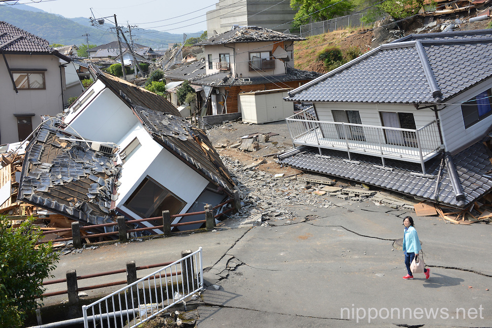 Search and recovery efforts continue after Kumamoto earthquakes