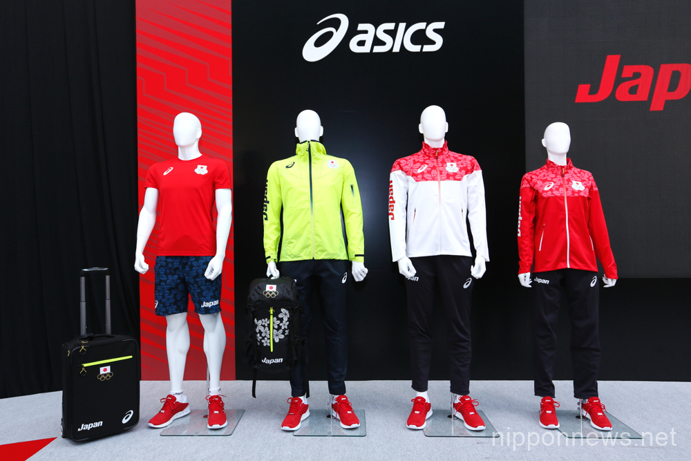 Japan presents new Asics kit for Rio 2016 Olympic and Paralympic Games