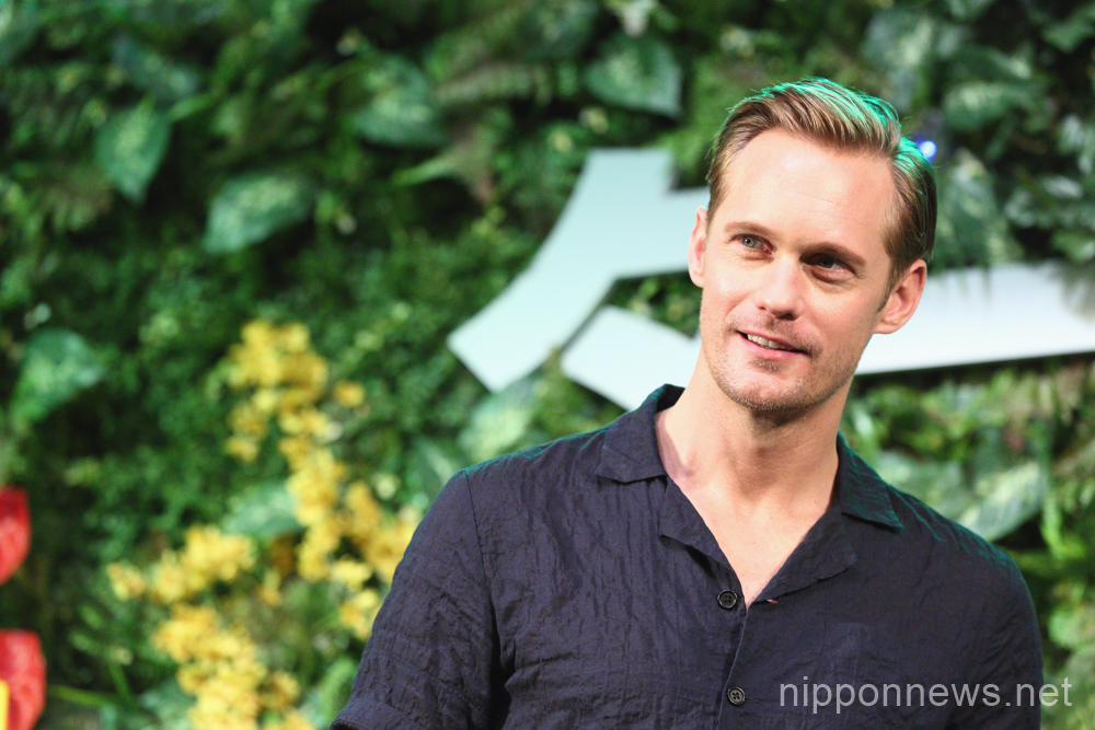 Alexander Skarsgard for The Legend of Tarzan in Tokyo