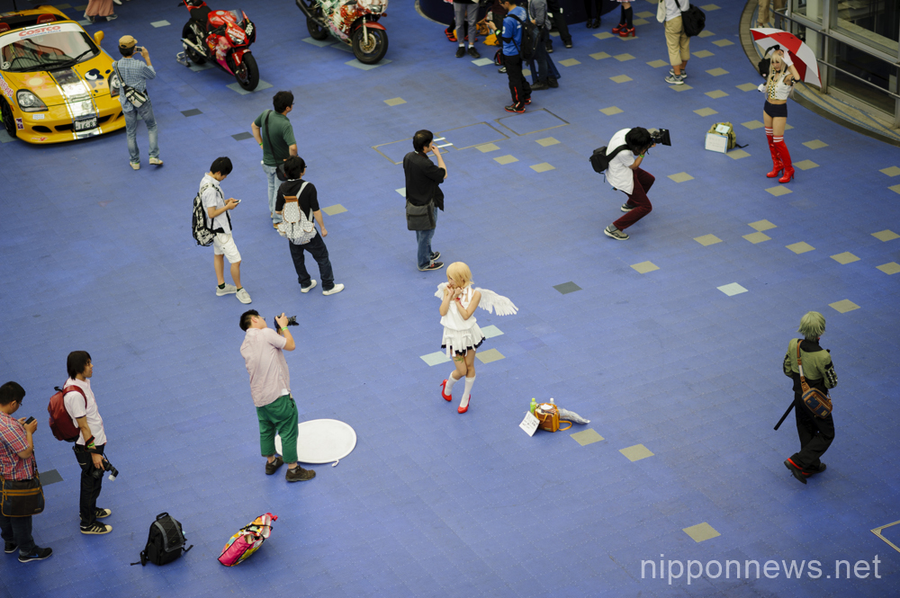 Cosplayers at Love Cul Sprit