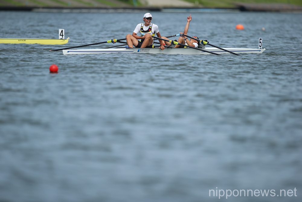 All Japan Lightweight Rowing Championships at Toda Olympic Rowing Course