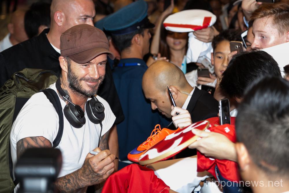 David Beckham takes Tokyo