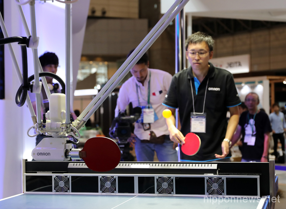 Robots from the very near future at CEATEC Japan Expo