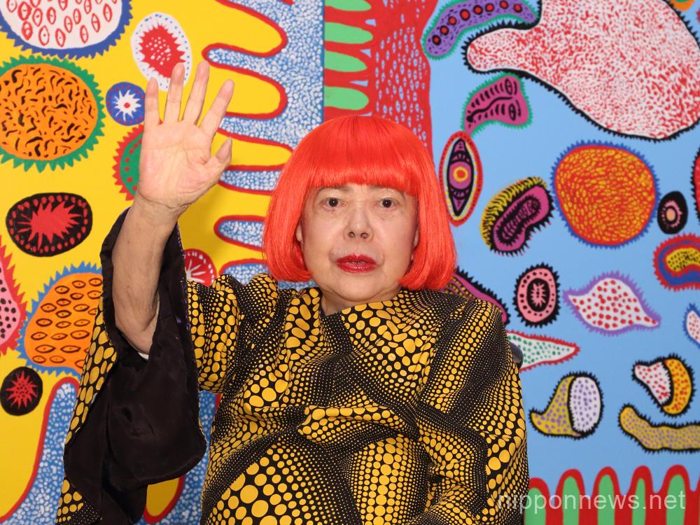 Yayoi Kusama's Largest Solo Exhibition
