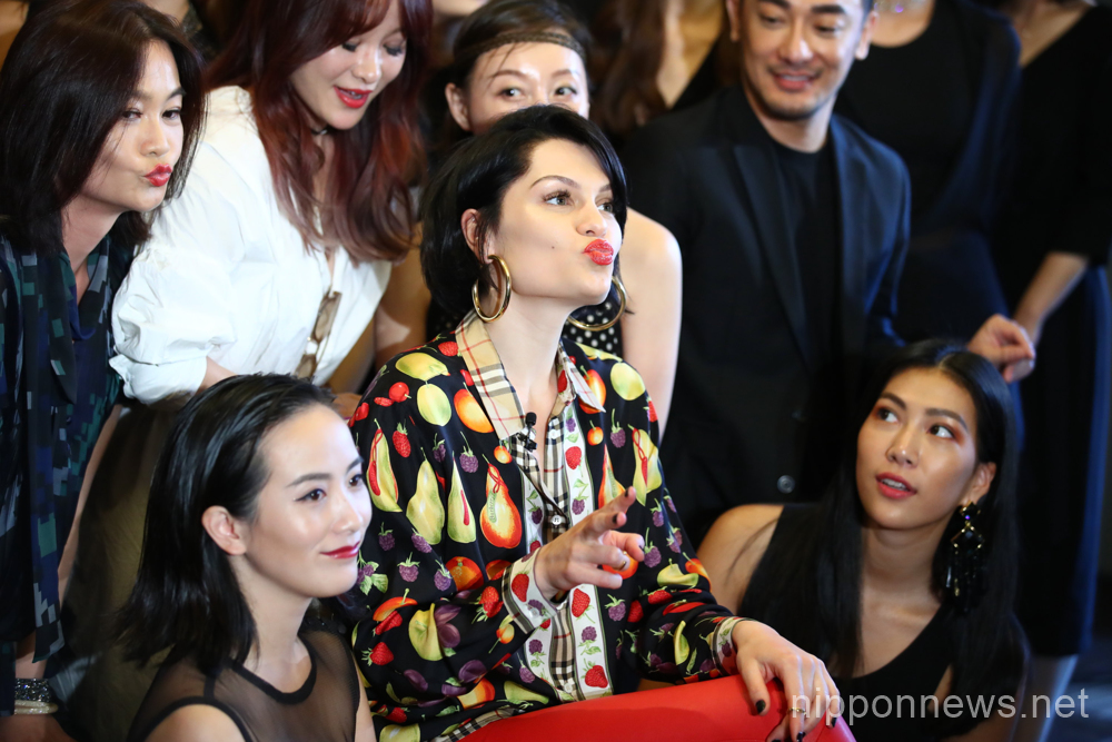 Jessie J attends Make Up For Ever event in Tokyo