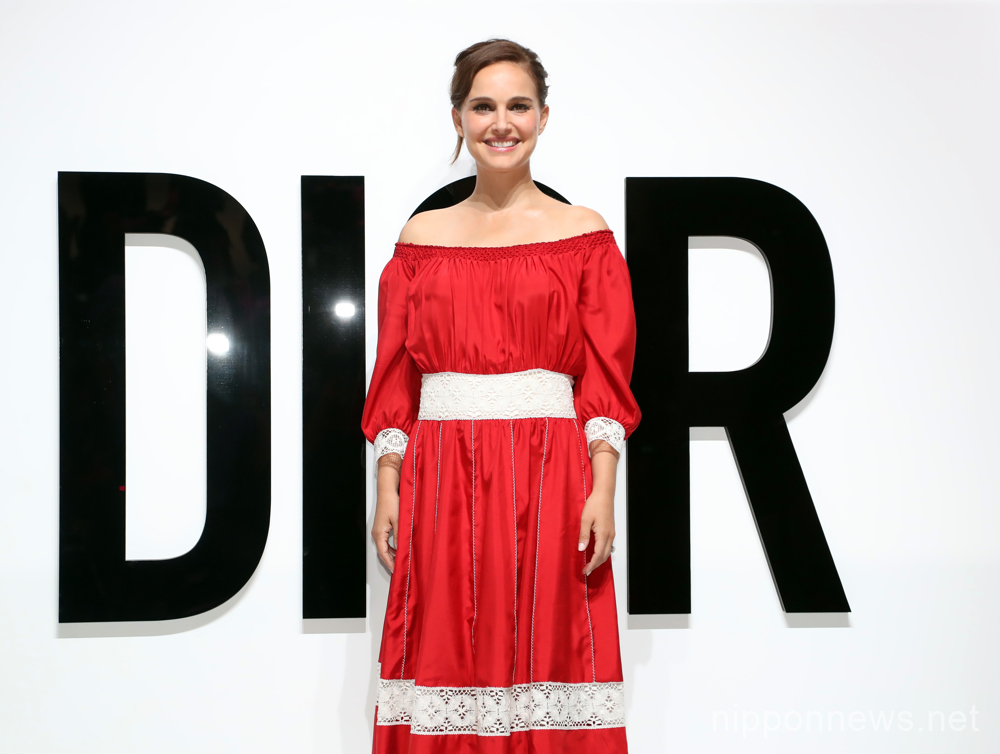 Natalie Portman attends DIOR FOR LOVE event in Tokyo