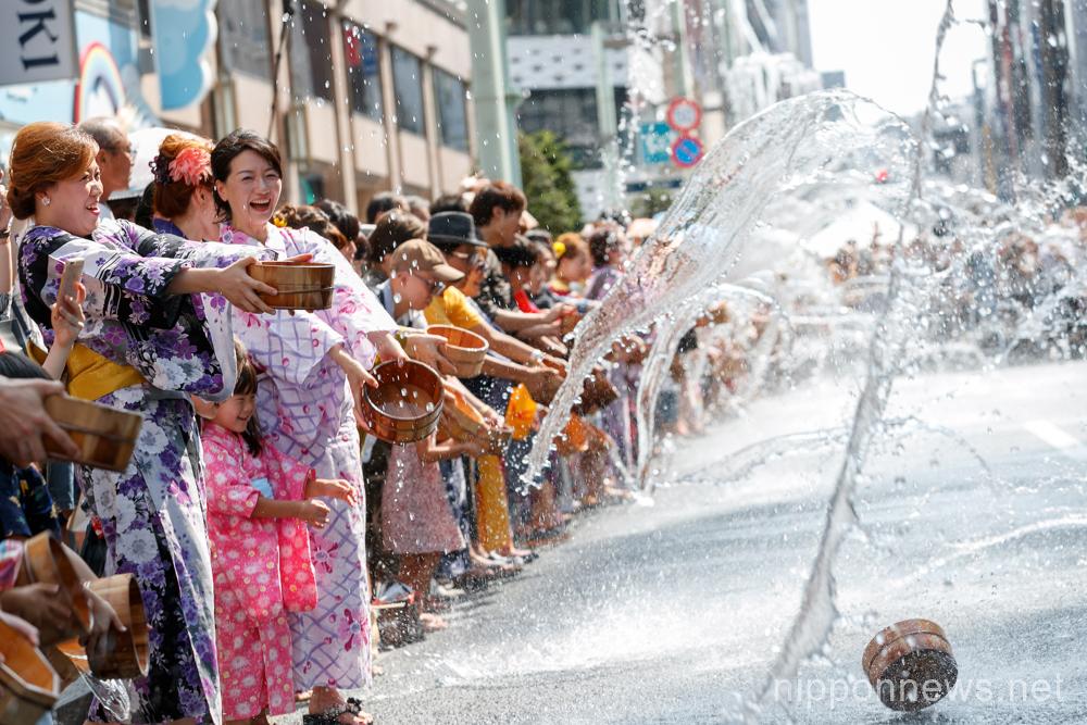 Yukata de Gin-bura Festival