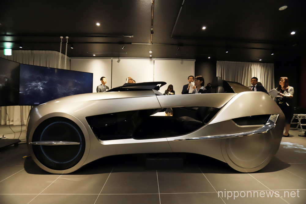 Mitsubishi Electric displays concept vehicle EMIRAI 4