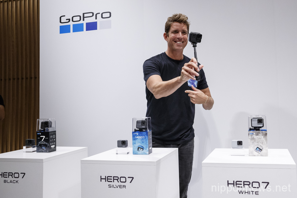 GoPro CEO introduces Hero 7 in Japan