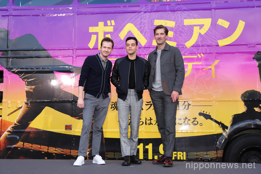 """Bohemian Rhapsody"" cast promote the movie in Tokyo"