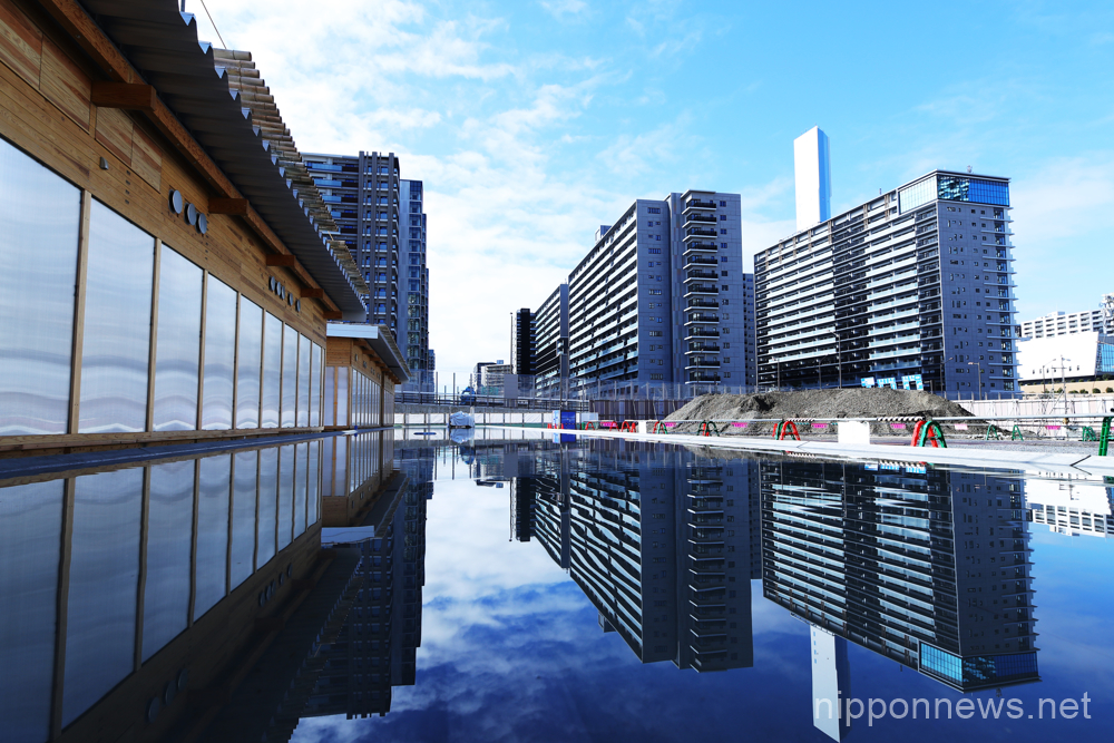 Tokyo 2020: organizers unveil sustainable Athletes Village Plaza