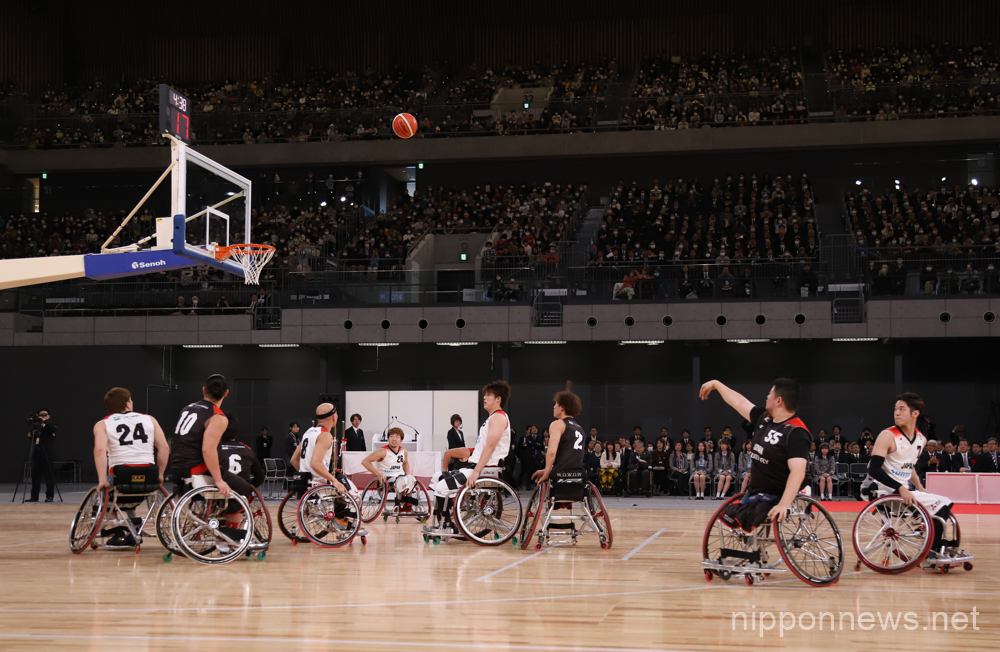 Inside the new Tokyo 2020 Olympic and Paralympic Venue: Ariake Arena