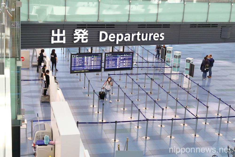 Haneda Airport deserted amid coronavirus spread