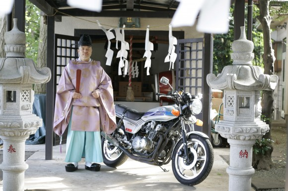 From moto to ShintoFrom moto to Shintoバイク愛好家の大澤神主